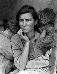 Μητέρα μετανάστης της Dorothea Lange