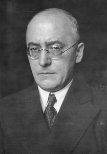 Ο Γερμανός Καγκελάριος Heinrich Brüning